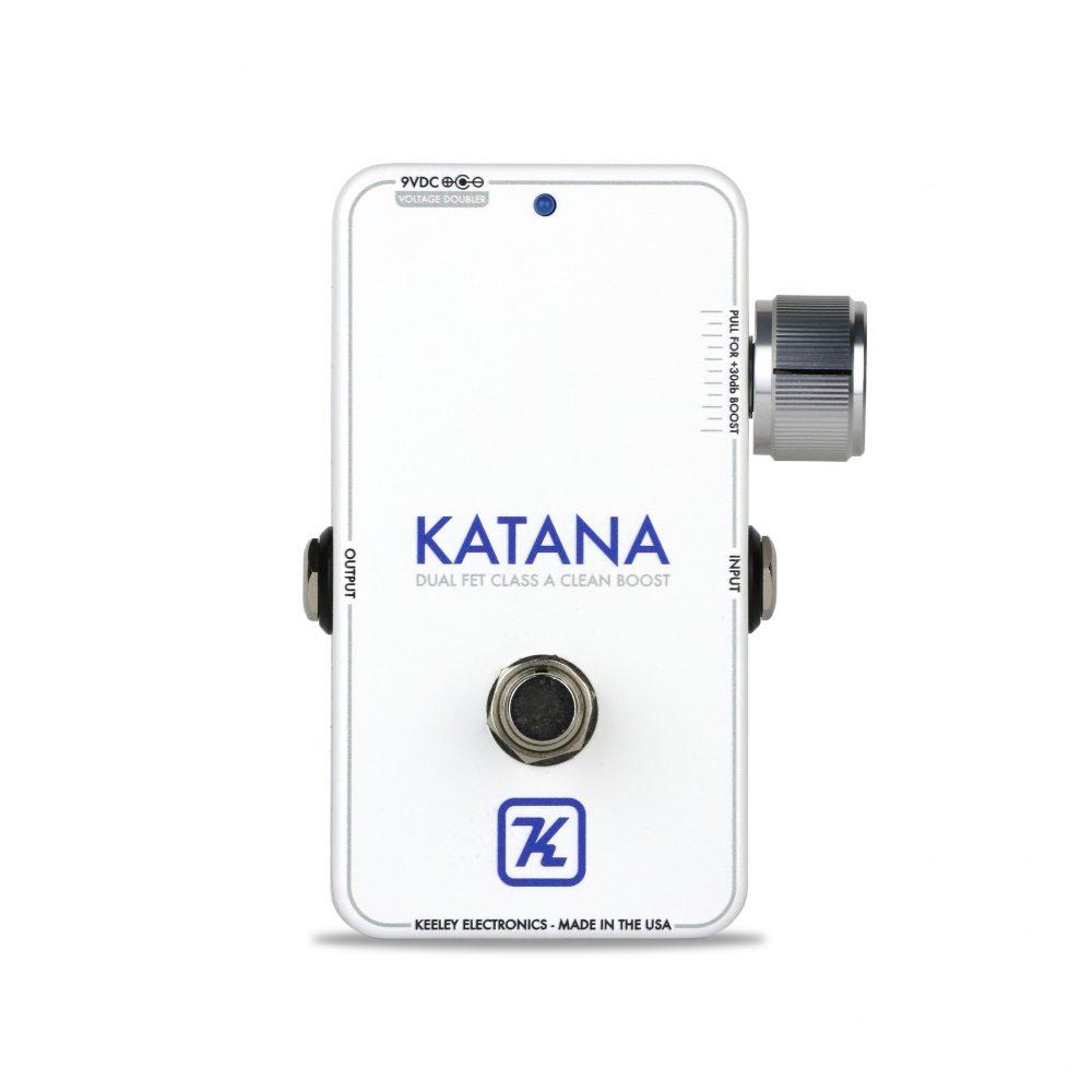 Keeley Katana Mini Miniature version of our Katana Clean FET Boost