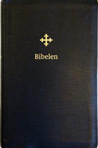 Bibel 2011, stor utgave i sort skinn