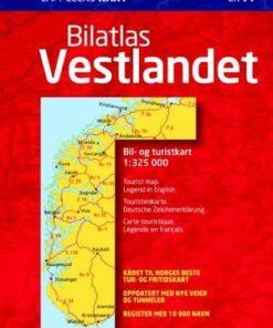 CK 77 Bilatlas Vestlandet