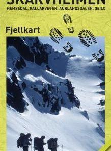 CK 44 Skarvheimen fjellkart