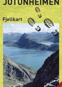 Jotunheimen - fjellkart