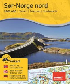 Veikart - Sør-Norge nord