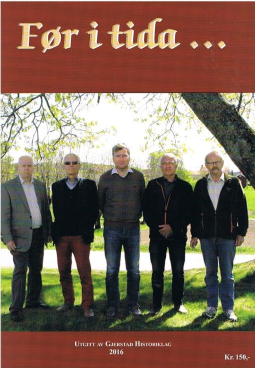 Før i tida ... årsskrift 2016