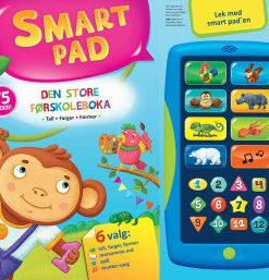 Den store førskoleboka med SMART PAD