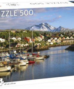 Puslespill 500 Narvik havn