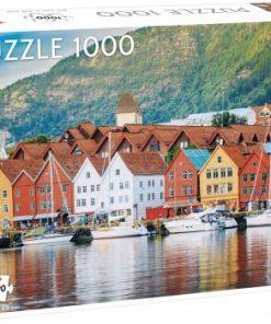 Puslespill 1000 Bergen havn