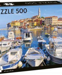 Puslespill 500 Rovigno havn