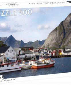 Puslespill 500 Utsikt over Lofoten
