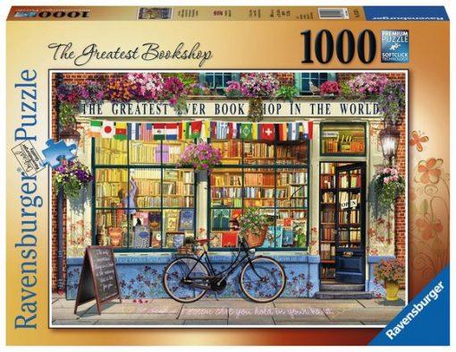 Puslespill 1000: Den beste bokhandelen