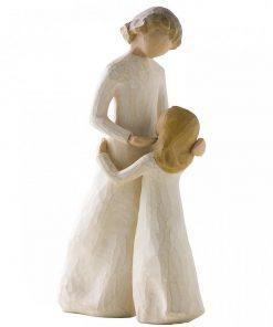Rangle 10 cm - Blå bamse