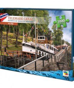Puslespill 1000 biter - Telemark kanal