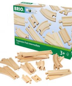 BRIO World Skinnesett 16 deler