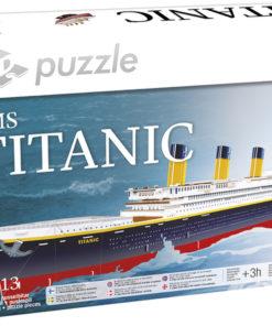 3D puslespill Titanic