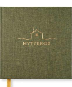 Paperstyle hyttebok med blanke ark – 96 sider