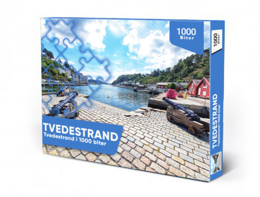 Puslespill Tvedestrand havn (1000)