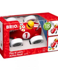 BRIO lek og lær - Racerbil