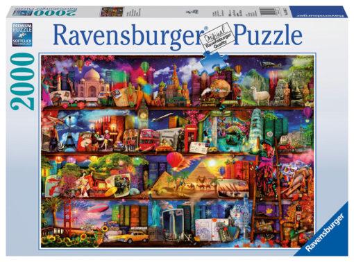 Ravensburger Puslespill - World of Books 2000 brikker