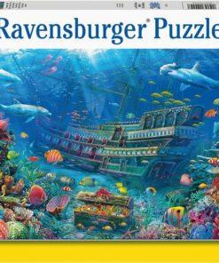 Ravensburger puslespill 200 brikker - Skipsvrak
