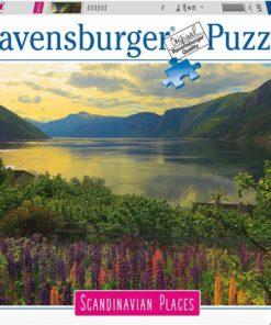 Ravensburger puslespill 1000 brikker - Fjord i Norge