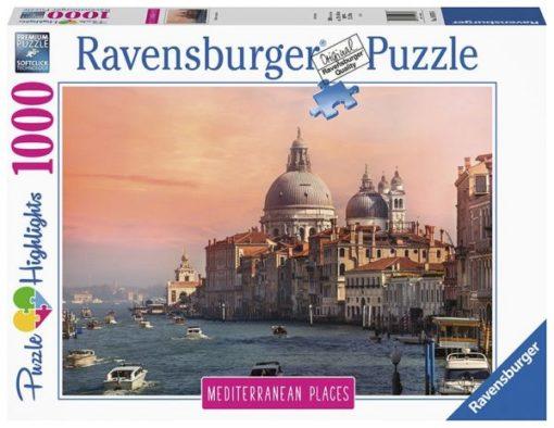 Ravensburger Puslespill 1000 Mediterranean Italy