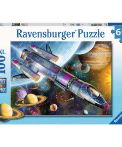 Ravensburger Puslespill - Oppdrag i verdensrommet 100 XXL brikker