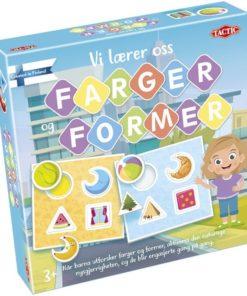 Lærespill farger og former