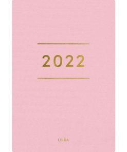 Dagbok GRIEG Libra Colore 2022 rosa