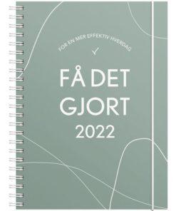 Ukekalender GRIEG A5 2022 Få Det Gjort