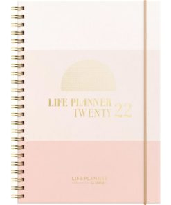 Kalender Life Planner 2022 Pink II A5