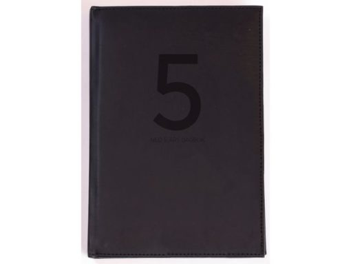 Dagbok GRIEG Neo A5 linjer 5 år grå