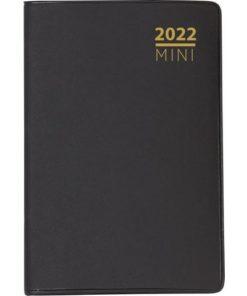 Lommekalender GRIEG Mini 2022 plast sort