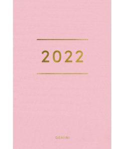 Lommekal GRIEG Gemini 2022 Colore rosa