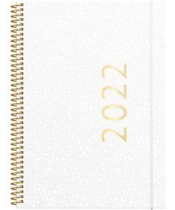 Ukekalender GRIEG Multi A5 2022 hvit