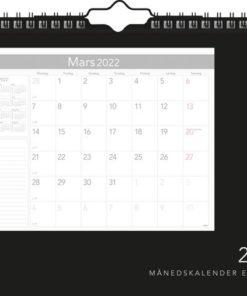 Månedskalender GRIEG 2022 Elegant spiral
