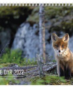 Veggkalender GRIEG 2022 Norske dyr