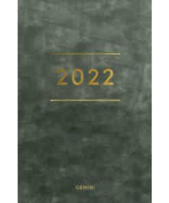 Lommekal GRIEG Gemini 2022 Colore grønn