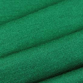 Merinoull interlock - grønn