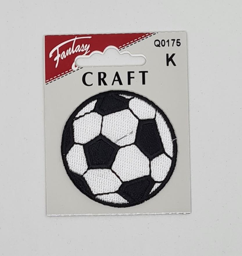 Fotball sort/hvit