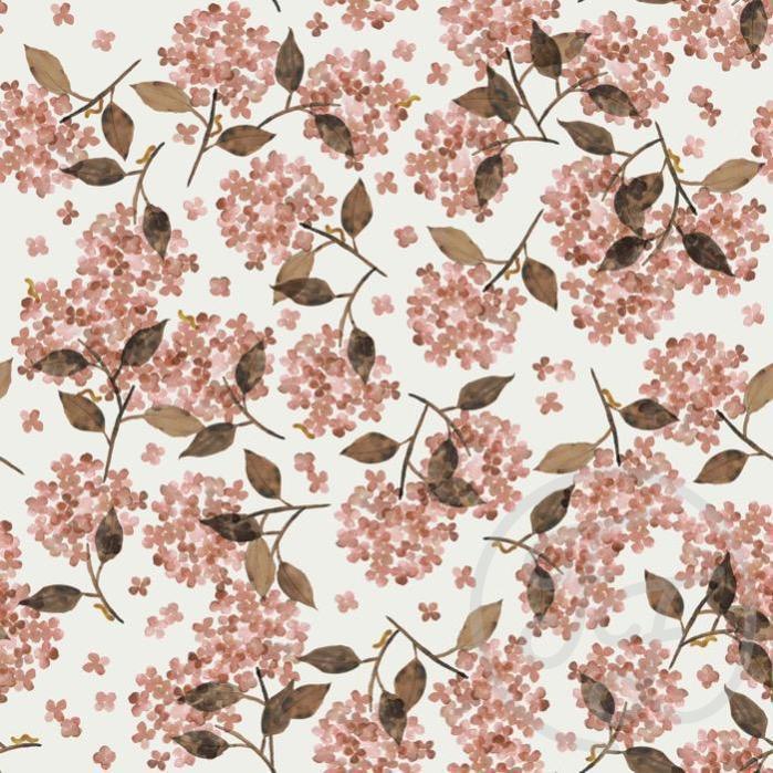 Family Fabrics - FT Hortensia Rosy
