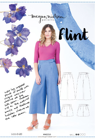 Megan Nielsen - Flint Cropped Pant/Shorts