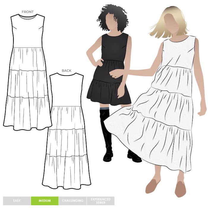 Style Arc - Nova Midi Dress