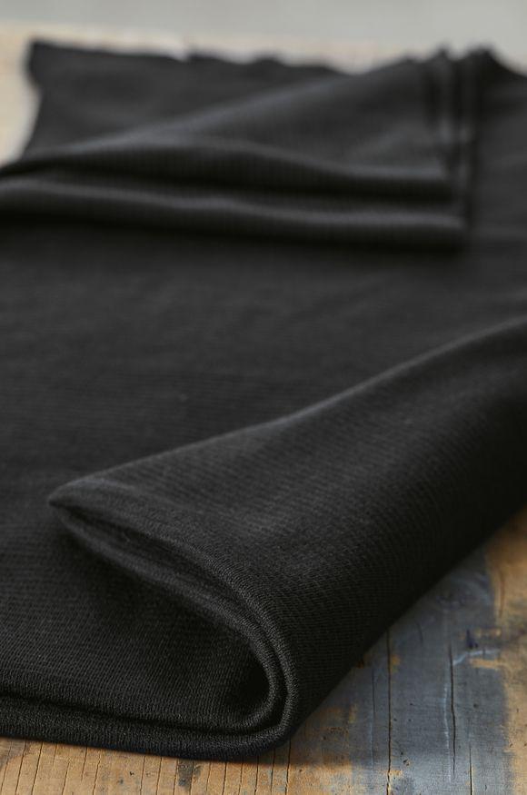 Mind the Maker - Woolen Ottoman - Black
