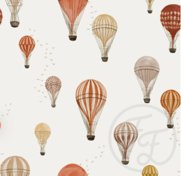 Family Fabrics - Hot Air Balloons
