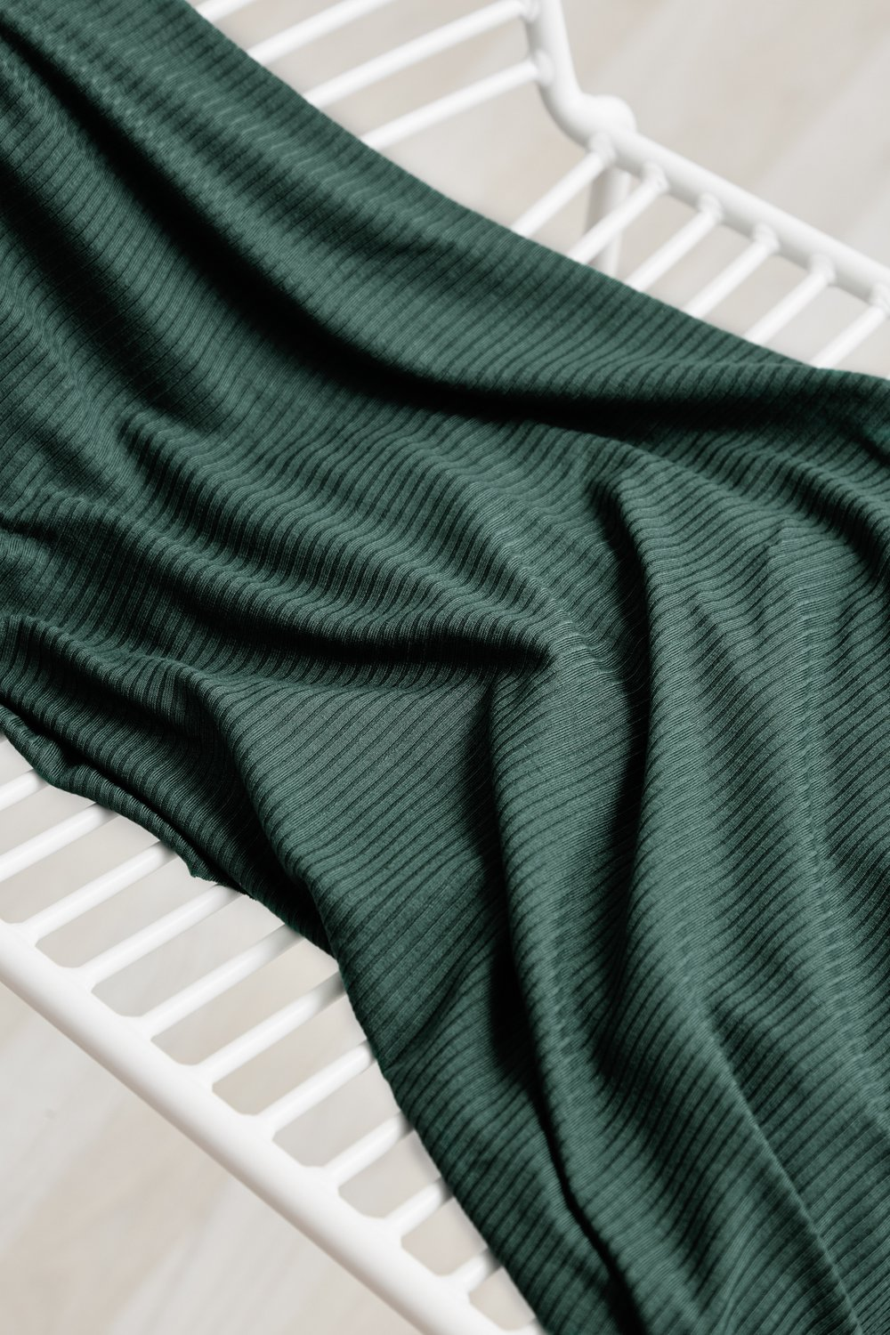 Mind the Maker - Derby ribbed jersey - Deep Green