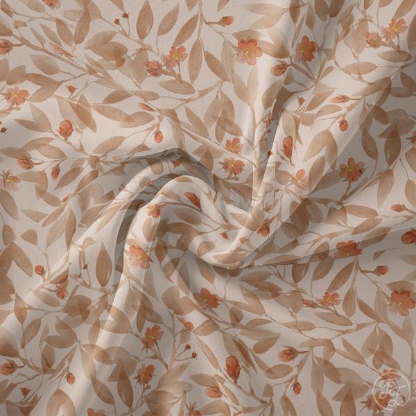 Family Fabrics - Blossom Eggnog