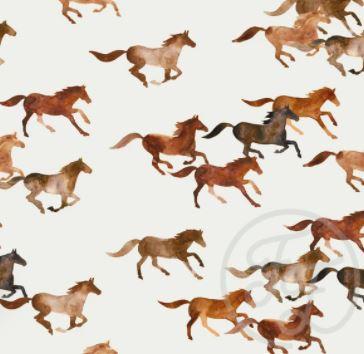 Family Fabrics - Wild Horses