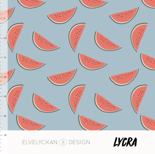 Elvelyckan Lycra - Watermelon Sky Blue