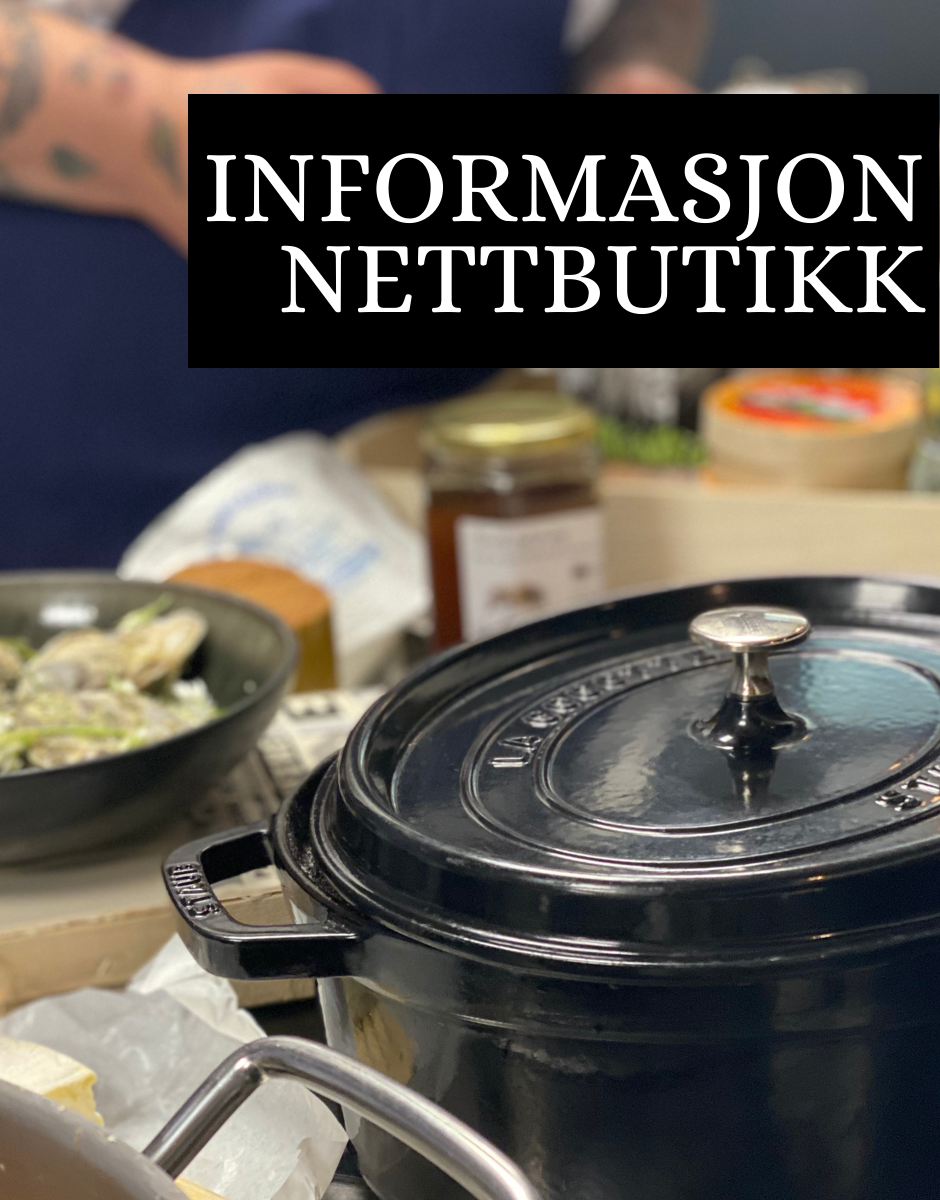 Informasjon nettbutikk