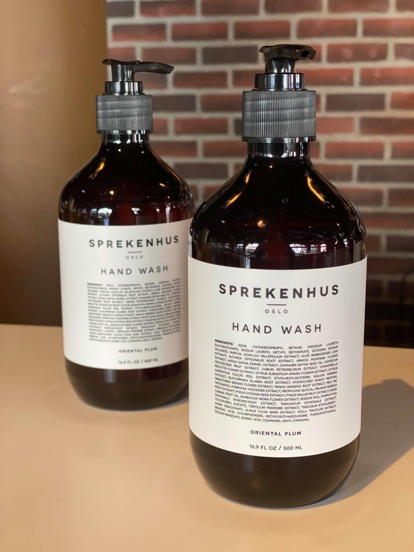 Sprekenhus Hand Wash, Oriental Plum, 500 ml