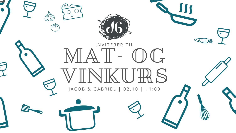 Mat- og vinkurs, 2. oktober